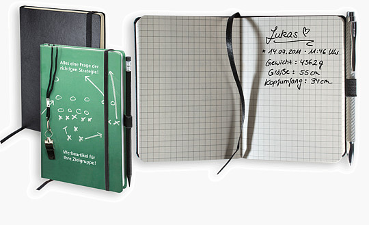 "Notizbuch ""Kompagnon individuell"" KOM A5P"