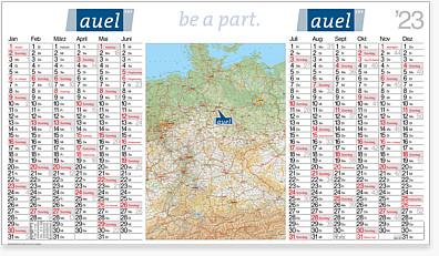 """Landkartenkalender """"Atlant"""" LK 12"""