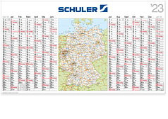 "Plakatkalender ""Germania"" LK 14"